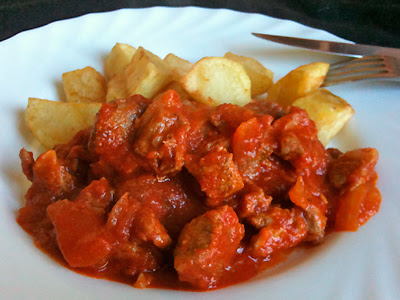Cocina con Aníbal Carne de ternera con tomate