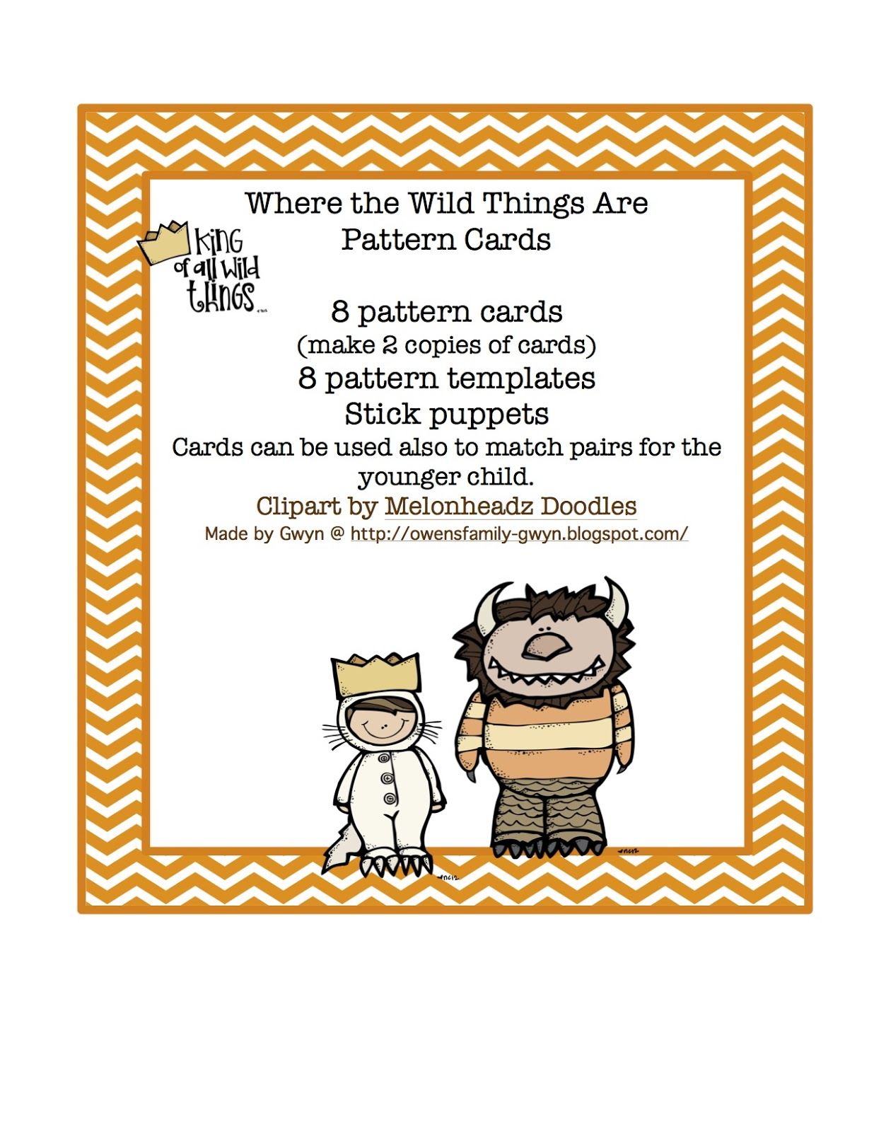 This is an image of Hilaire Where the Wild Things Are Printables for Free