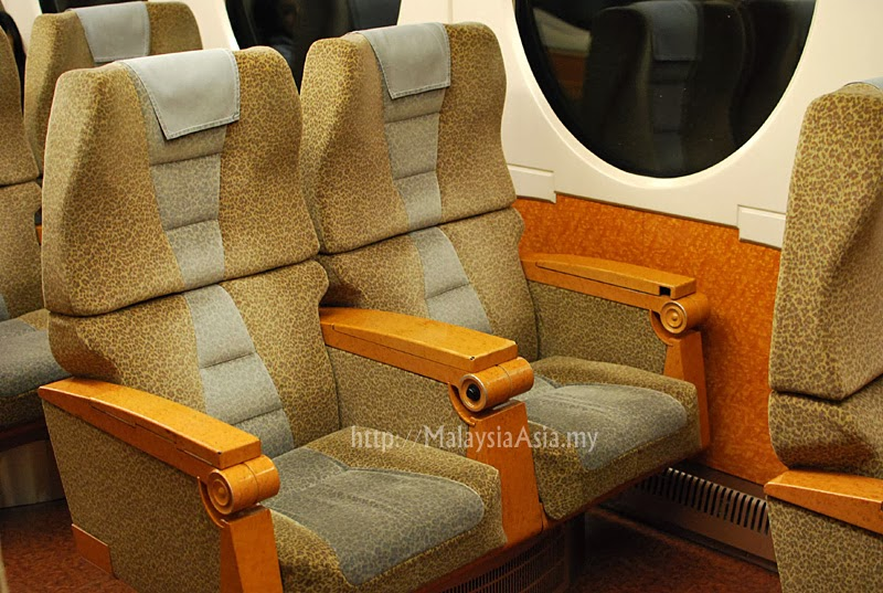 Seating of Nankai Airport Line Train