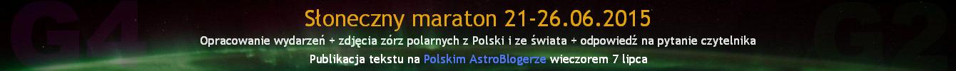 Szczegółowe opracowanie burz magnetycznych ze słonecznego maratonu 21-26 czerwca wraz ze zdjęciami zórz polarnych z Polski i ze świata plus odpowiedź na pytanie czytelnika - publikacja tekstu na blogu we wtorek 7 lipca, w godzinach wieczornych.