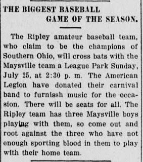 The Public Ledger, 23 July 1920, Maysville, Kentucky