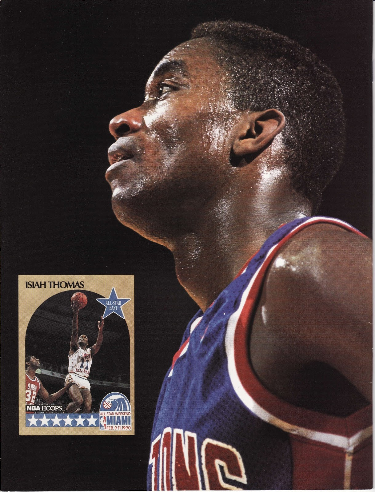 Isiah Thomas from Beckett Basketball Monthly