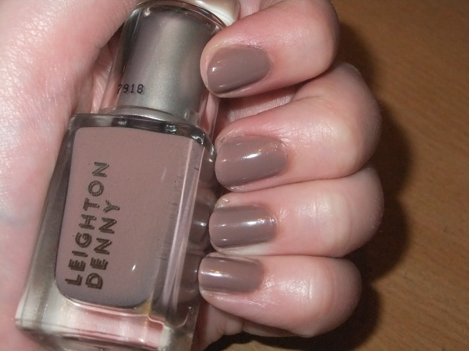 Make-Up By Maria: Nail of the Day: Leighton Denny Supermodel(and ...