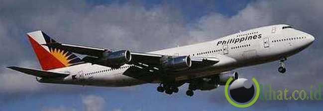 Wanita Filipina Melahirkan di Philippine Airlines
