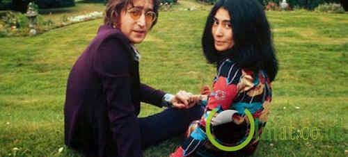 John Lennon dan Yoko Ono