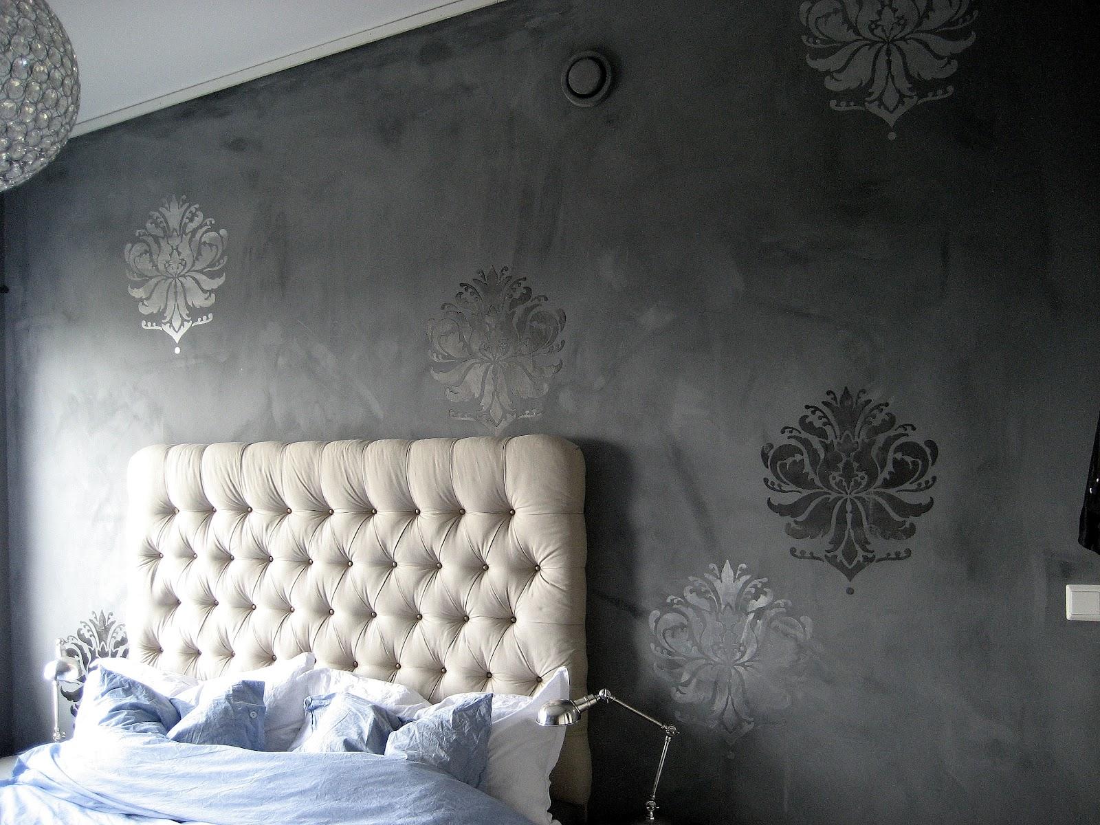 Rosin byggjer reir: DIY: stensilar til veggen- rimeleg ...