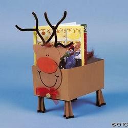 Moldes navide os bonitos y f ciles de hacer for Manualidades renos navidenos