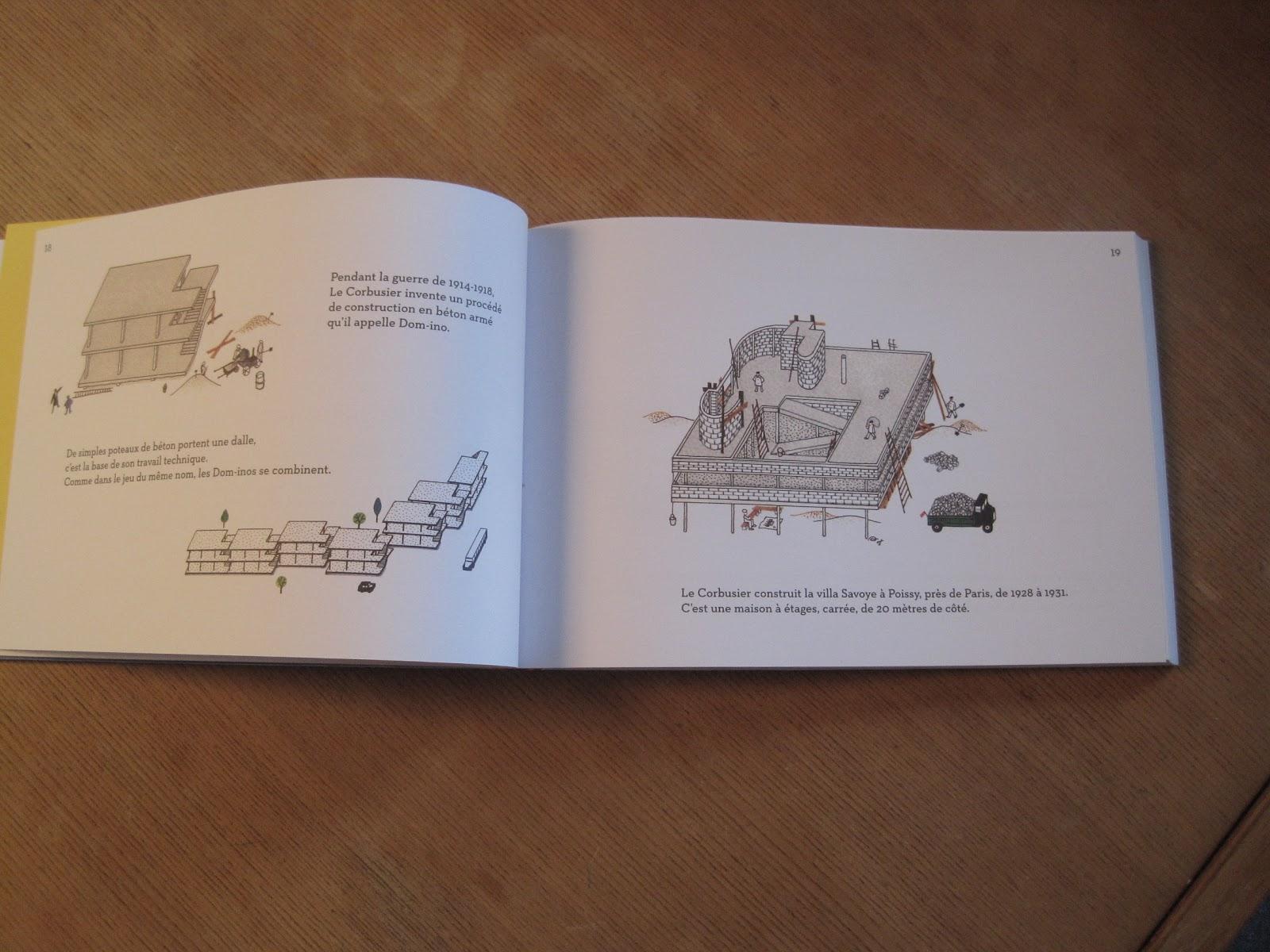 les cinq points de l 39 architecture moderne expliqu s aux enfants la vie des formes. Black Bedroom Furniture Sets. Home Design Ideas