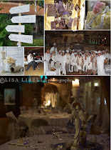 "my book presentation... a big party in white! For the ""book of love""."