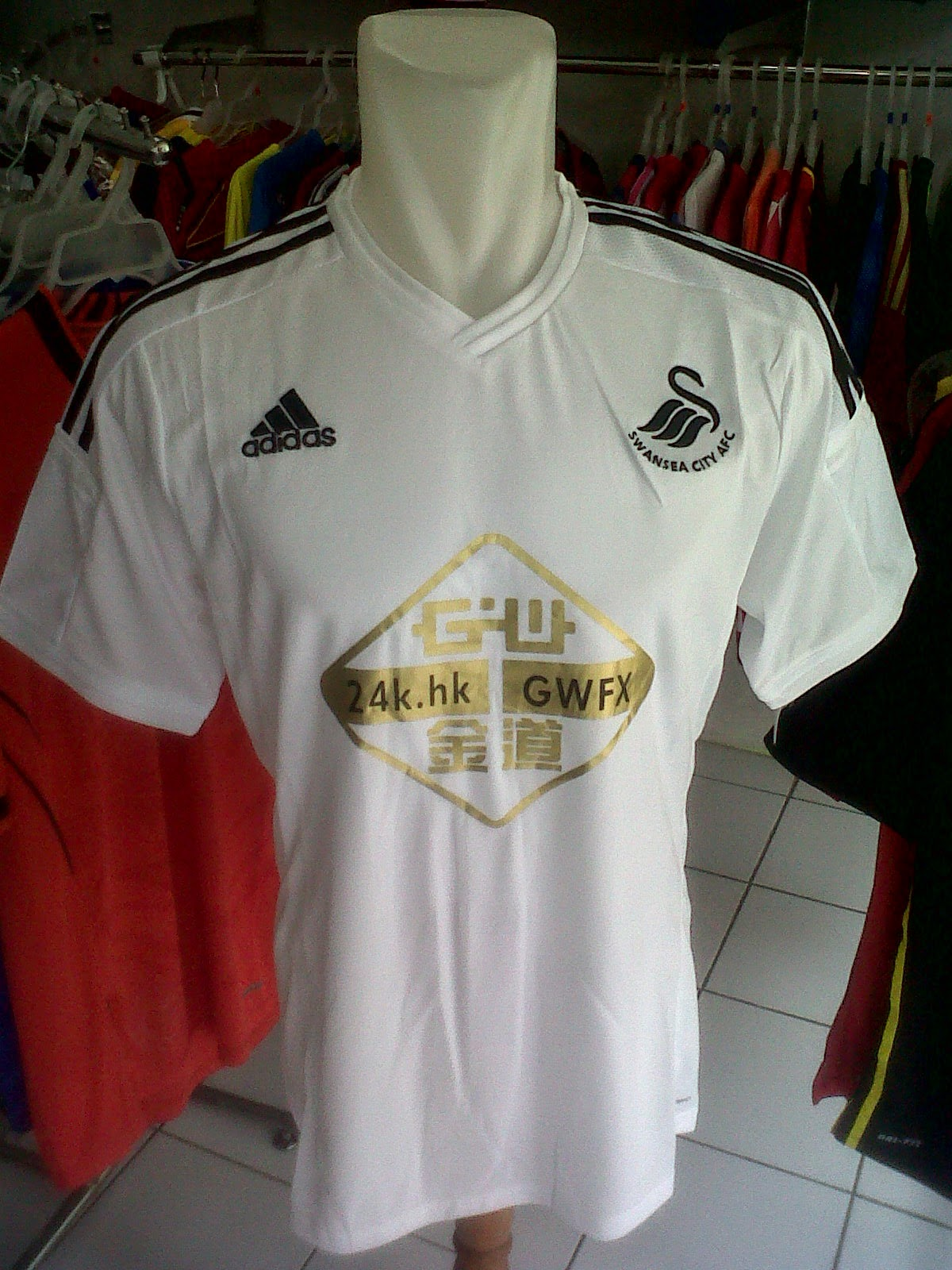 Jersey Swansea City Home  2014/2015