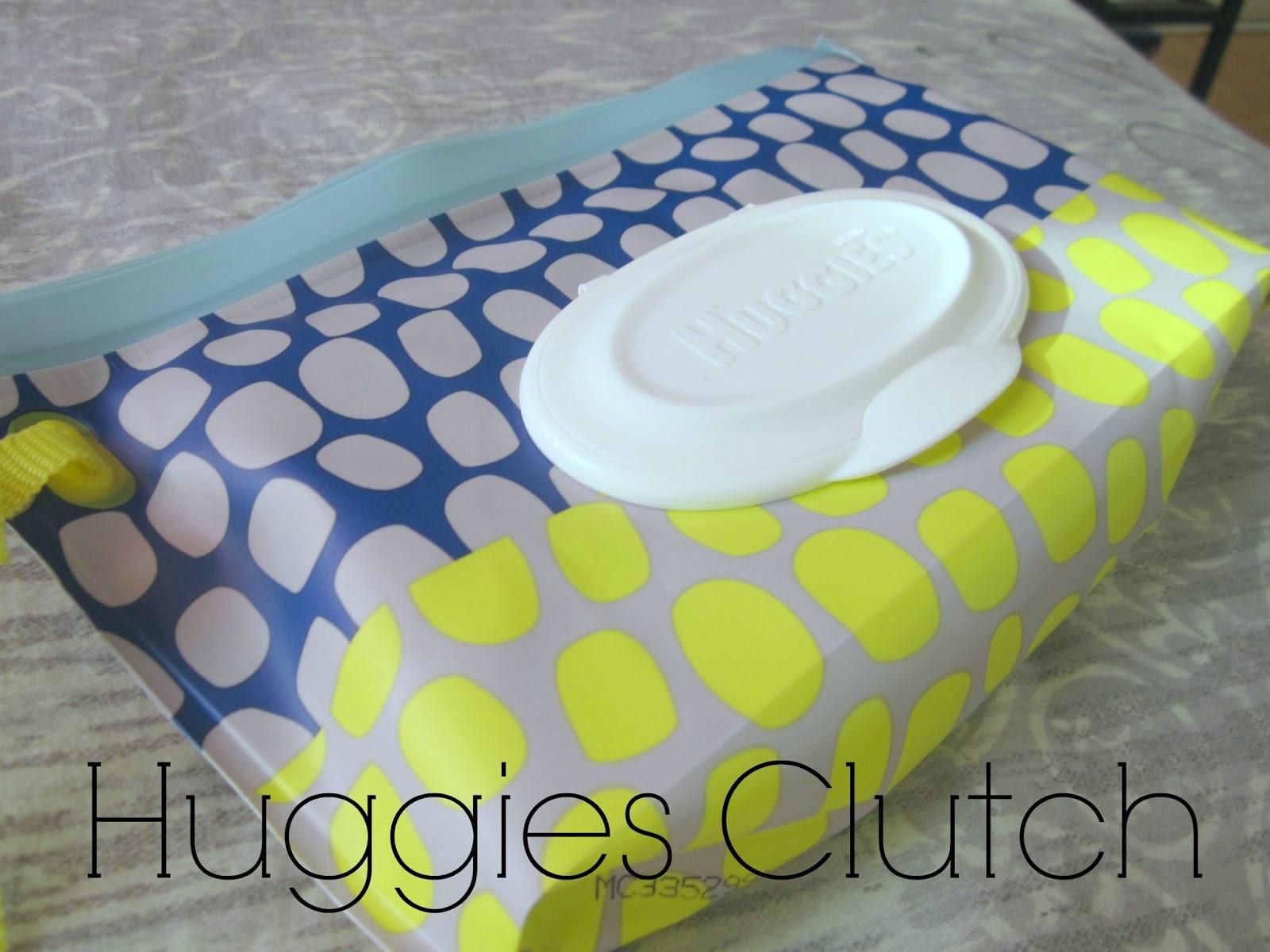 huggies clutch