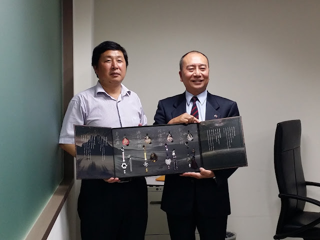 江蘇鹽城國際美容健康中心赴台參訪團