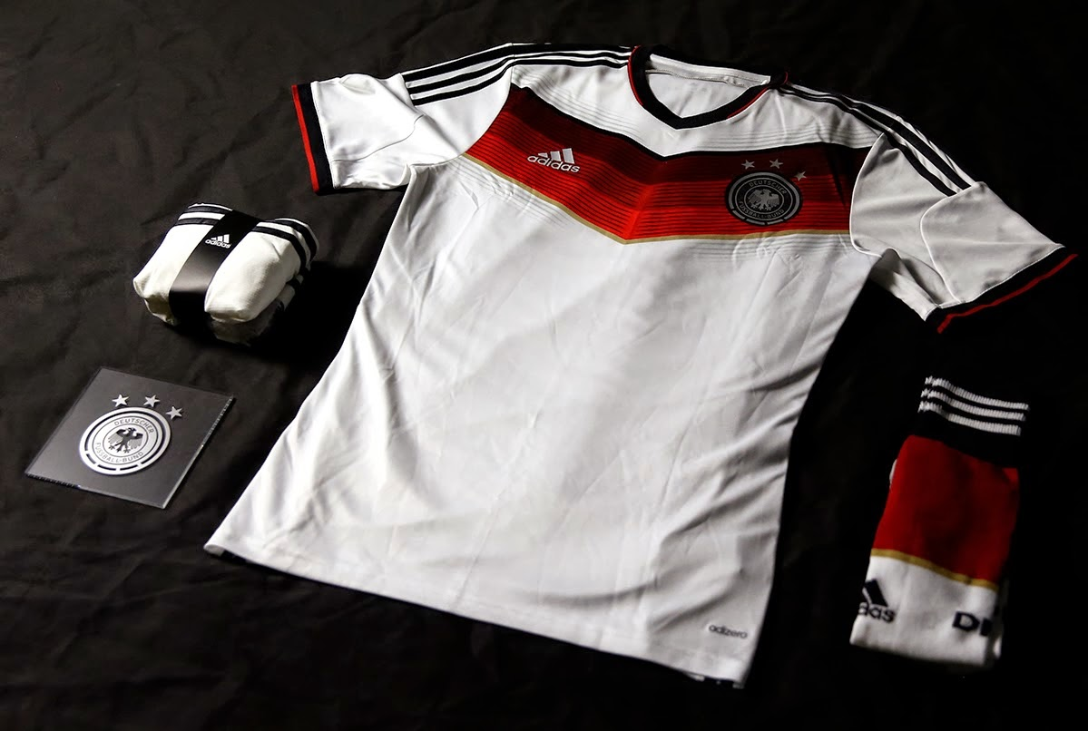Kit Jersey Germany 2014 FIFA World Cup