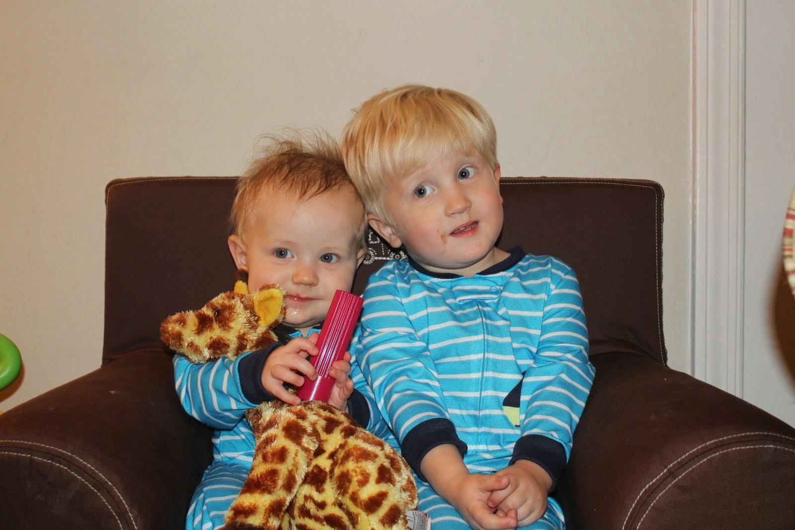 Sam and Luke