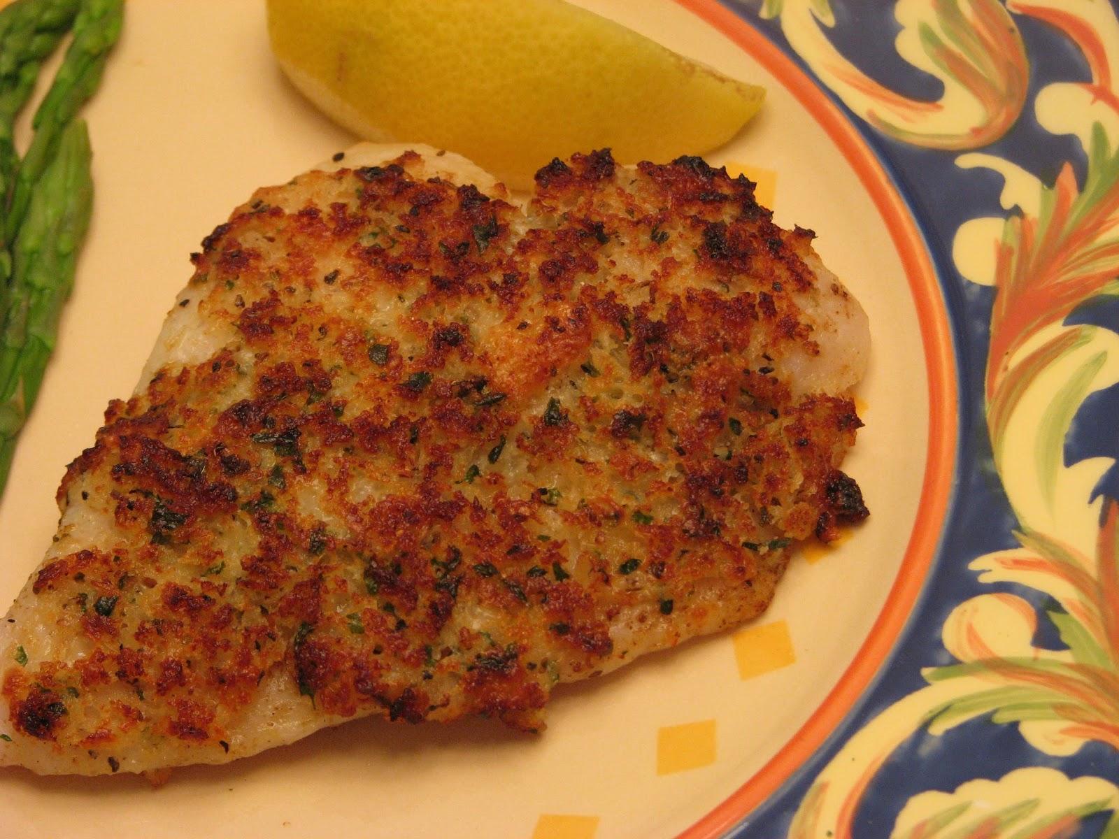 TheFultonGirls: Broiled Tilapia Parmesan
