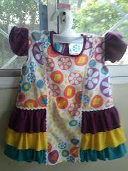 Patrón de vestido para niña a $1.00