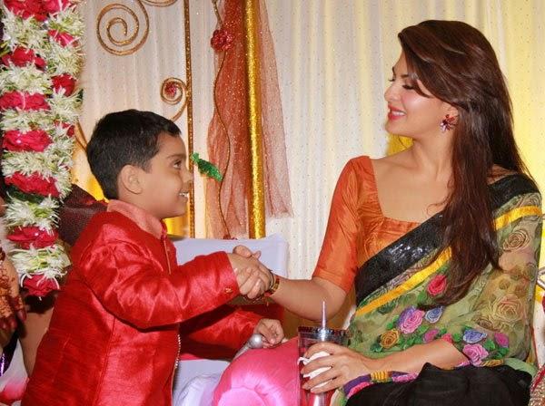 Jacqueline Fernandez graces her personal assistant Ram's nephew's wedding