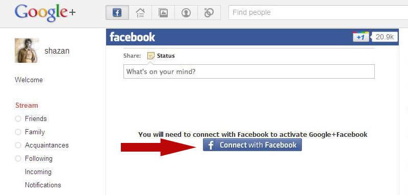 how to allow dramafever to access facebook