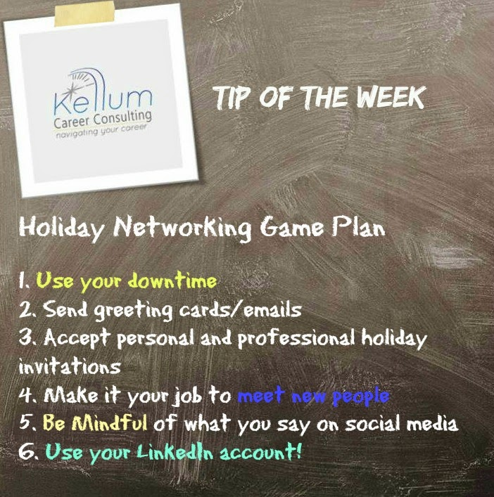 Kellum Career Consulting, Job Search Advice