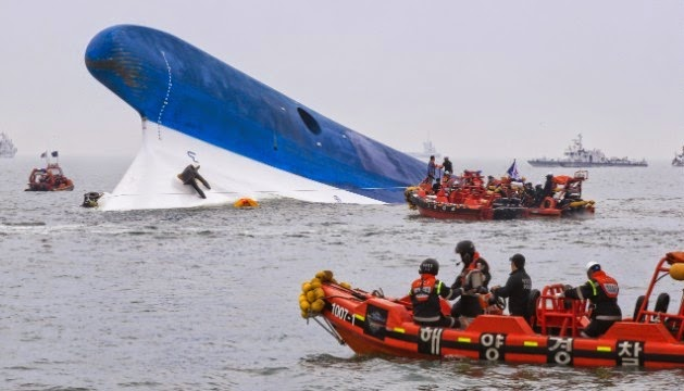 Latest Images Of South Korea Ferry Sinking Titanic