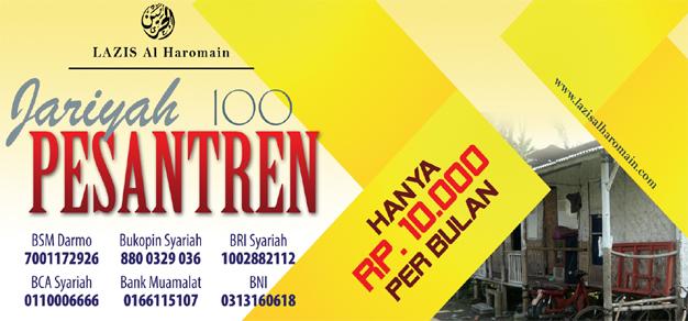Jariyah 100 Pesantren