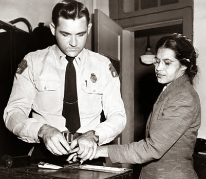 Rosa Parks  Arrest and Fingerprinting Montgomery Bus Boycott