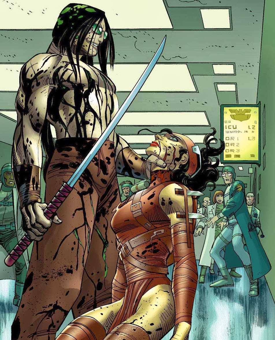 Gorgon (Marvel Comics) Character Review - Ready for Action or Kill ??