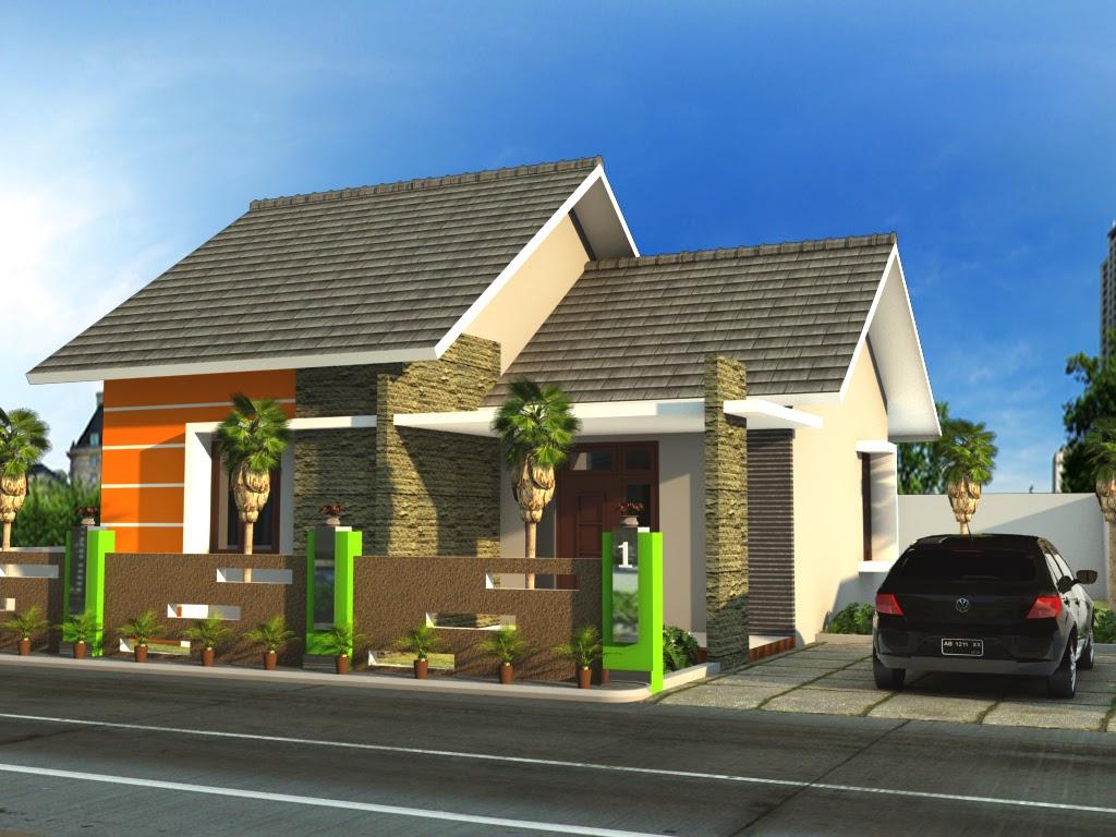 desain rumah type 80