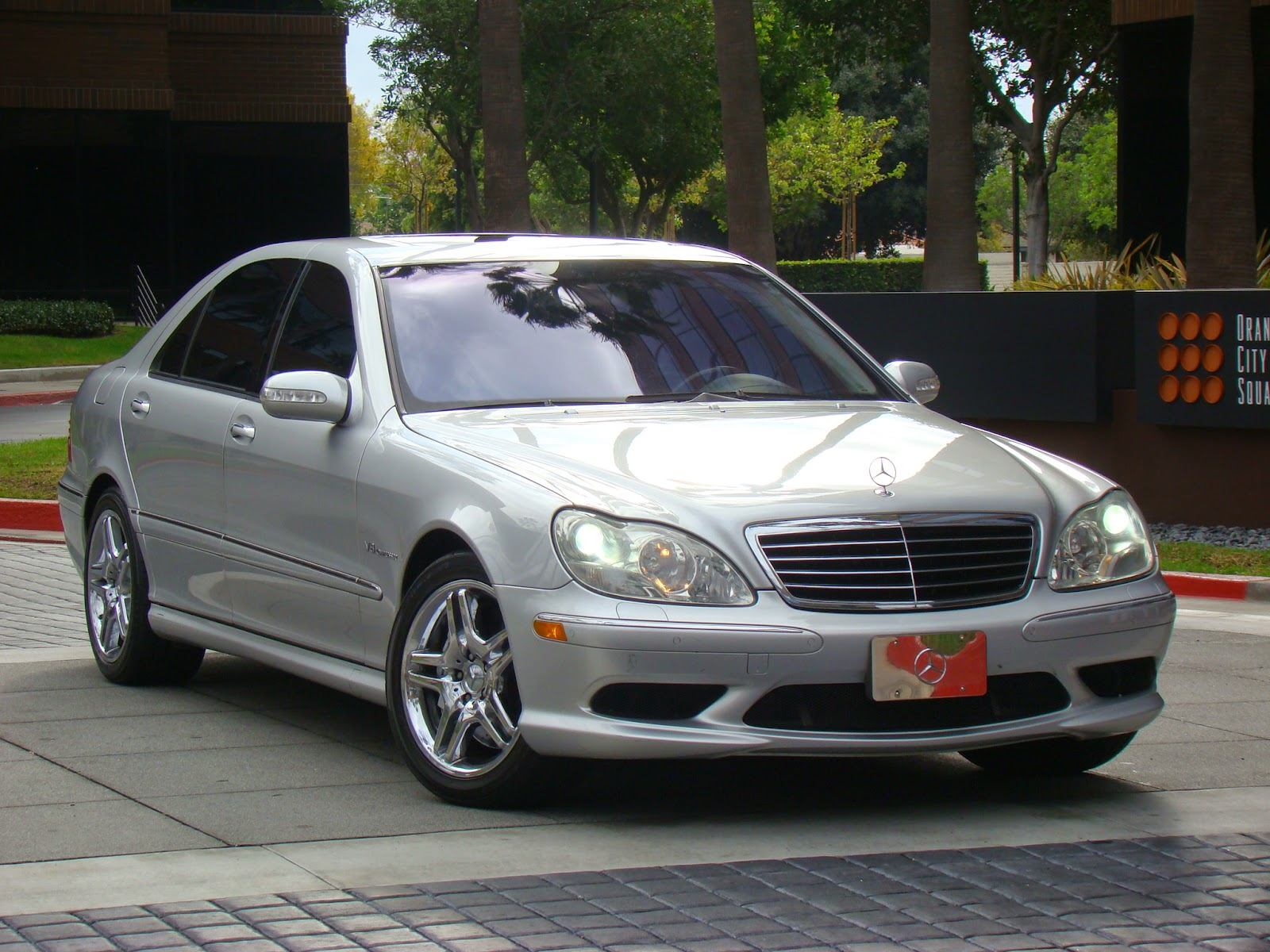 Daily turismo 15k fast class 2003 mercedes benz s55 amg for Mercedes benz s55