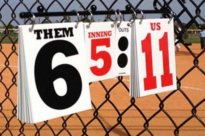 ScoreStix Scoreboard