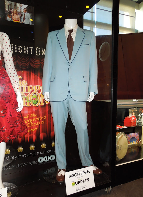 Jason Segel Muppets movie costume