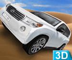 3d Dubai Çölünde Araba