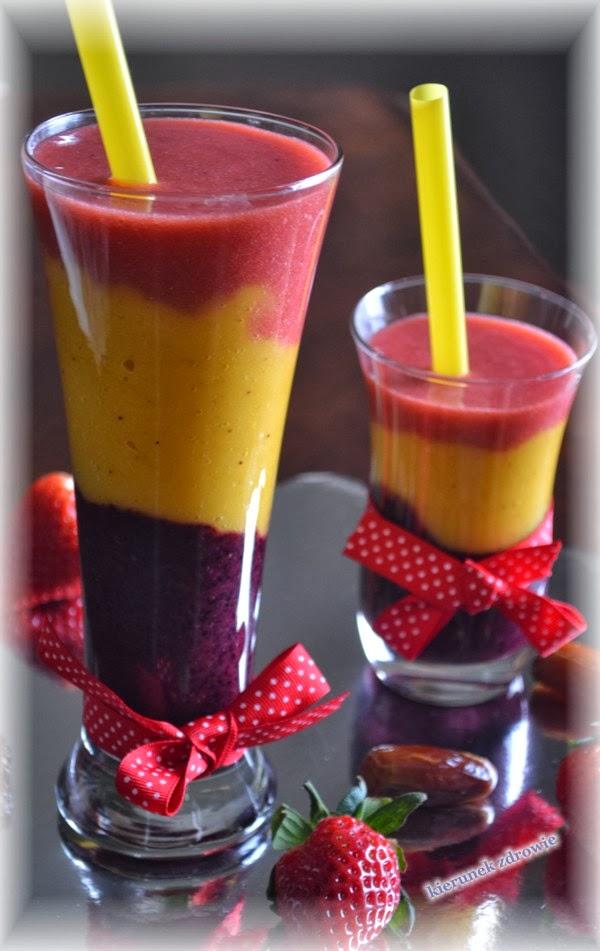 Kolorowy koktajl