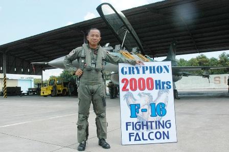 Letkol Pnb Setiawan Raih 2000 Jam Terbang