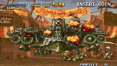 Metal Slug Anthology gameplay