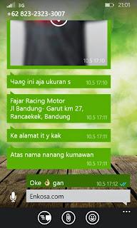 jual online baju bola kualitas grade ori Alamat lengkap Nanang Kumawan