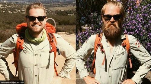 Foto Sebelum dan Sesudah Berjalan Kaki dari Mexico ke Kanada