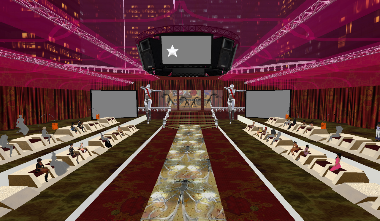 Thrishia denver 39 s blog the new runway stage cws for ms for Runway stages