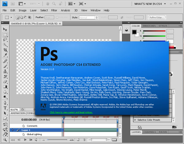 photoshop cs4 download cracked version