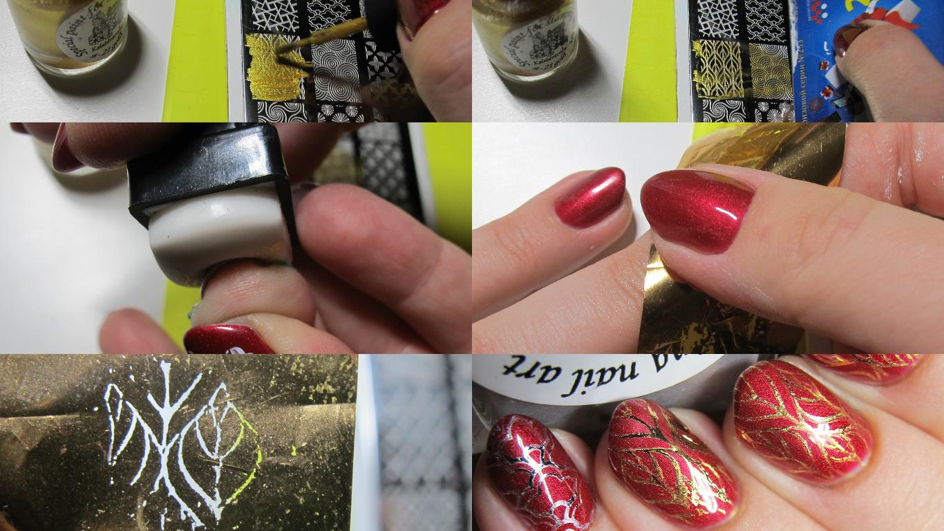 Как сделать ногти с фольгой? - 50 Фото Видео