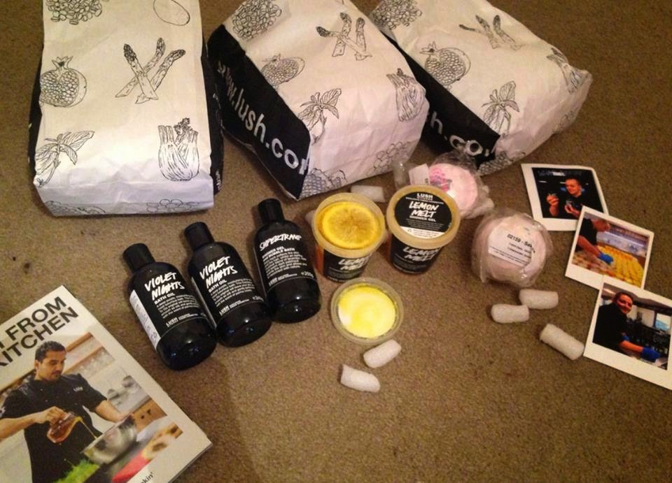 all things lush uk: my initial rection to lush kitchen and first order