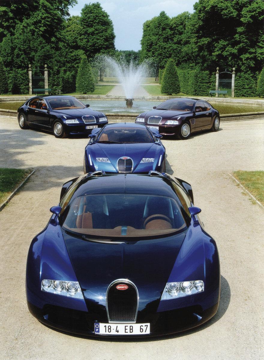 Bugatti marque in 1998