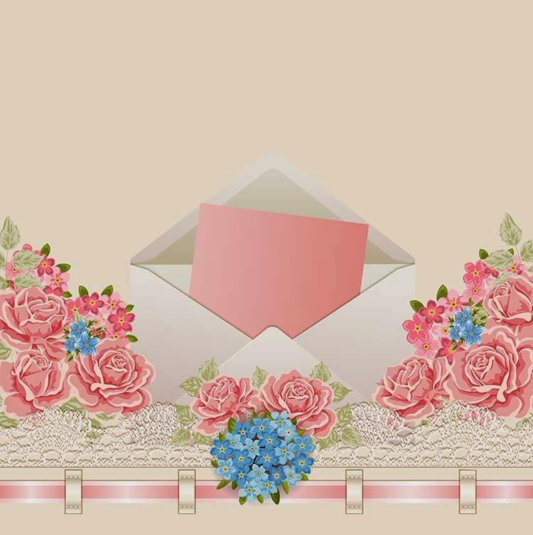 25 contoh undangan simple dan soft atau cara membuat