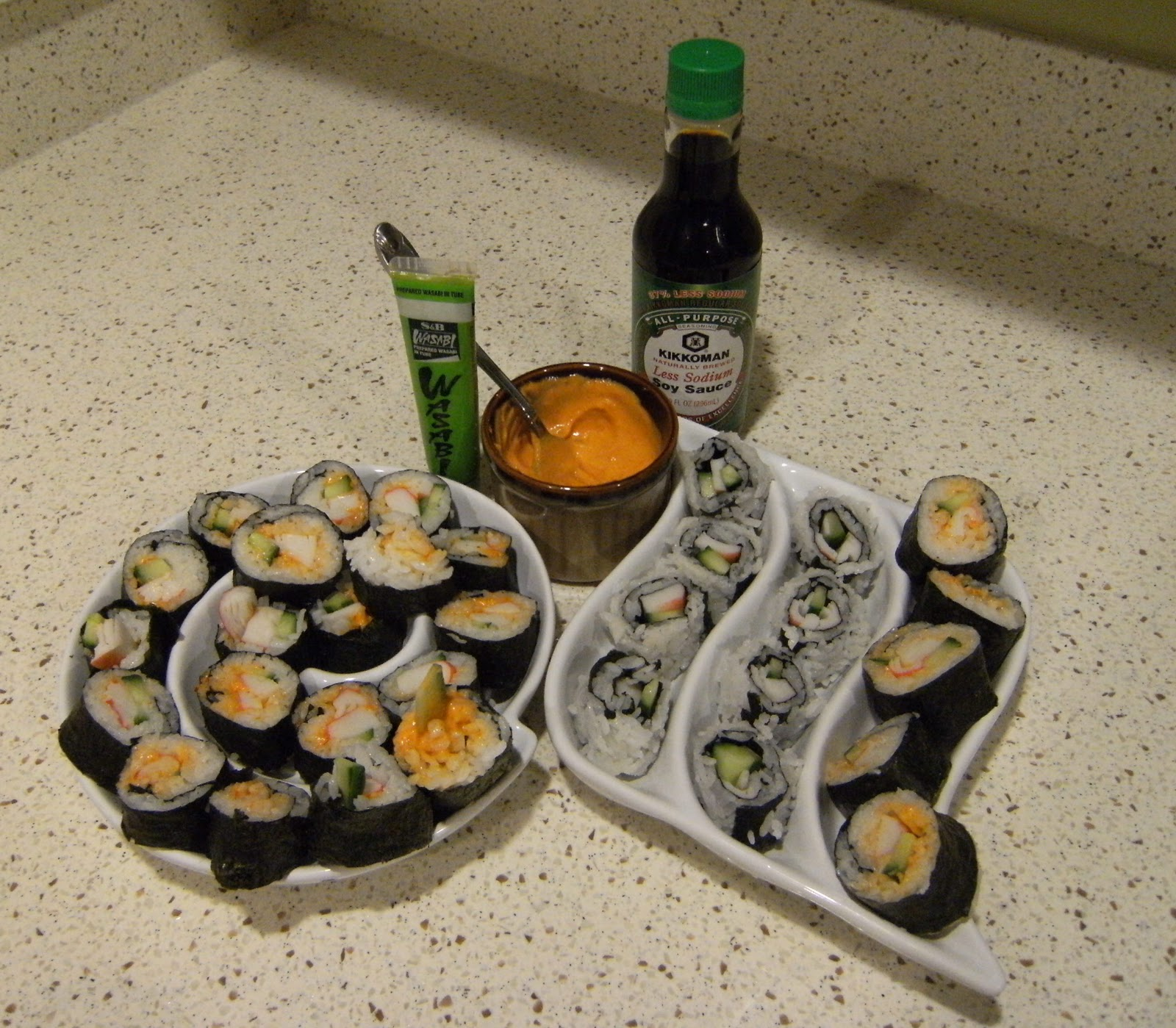 Projects Around the House: Make Your Own Sushi