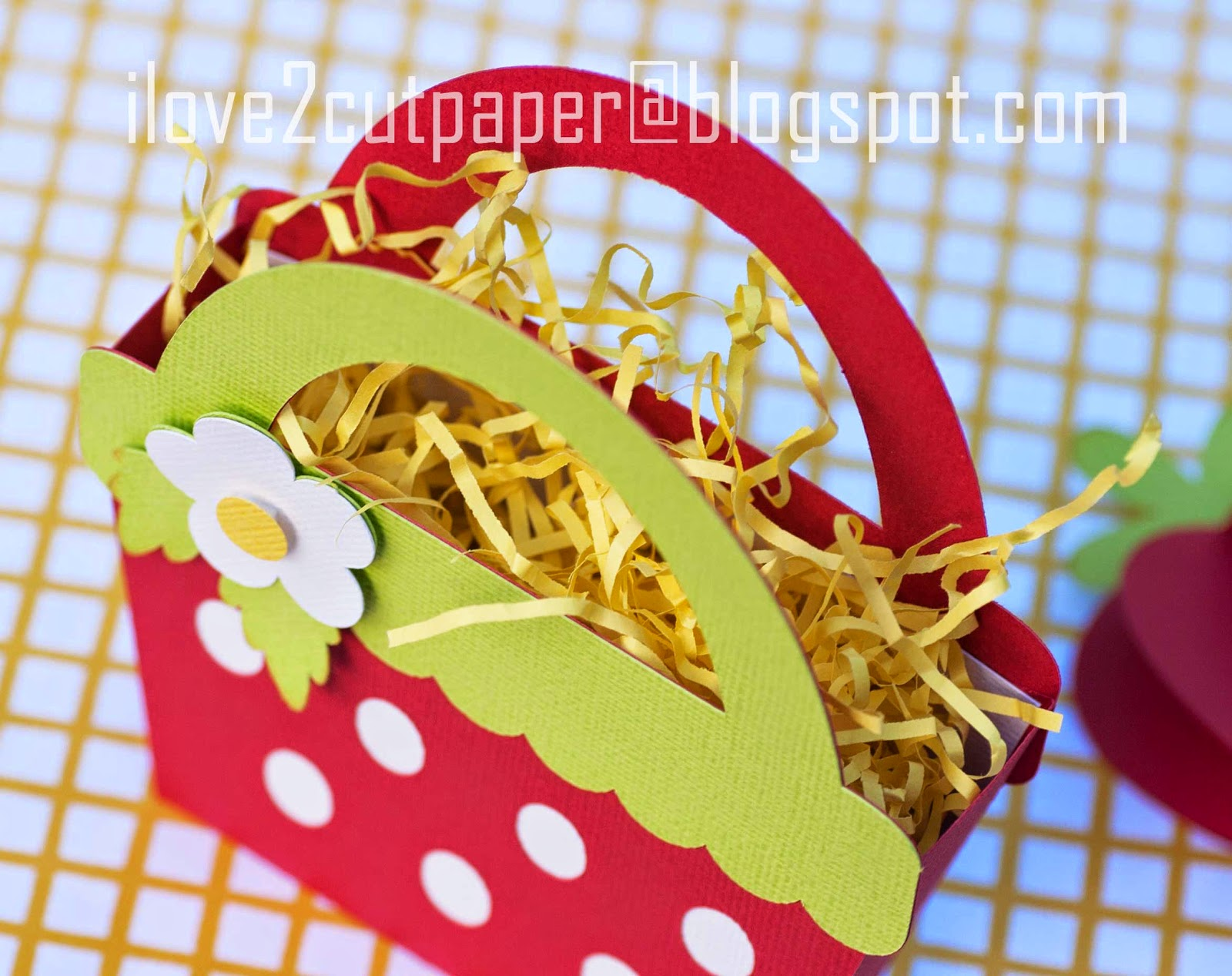Strawberry Bag for Candy or Note-let holder