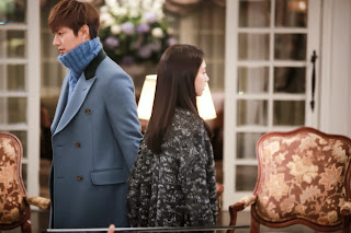 FOTO LEE MIN HO - DRAMA THE HEIRS EP 15