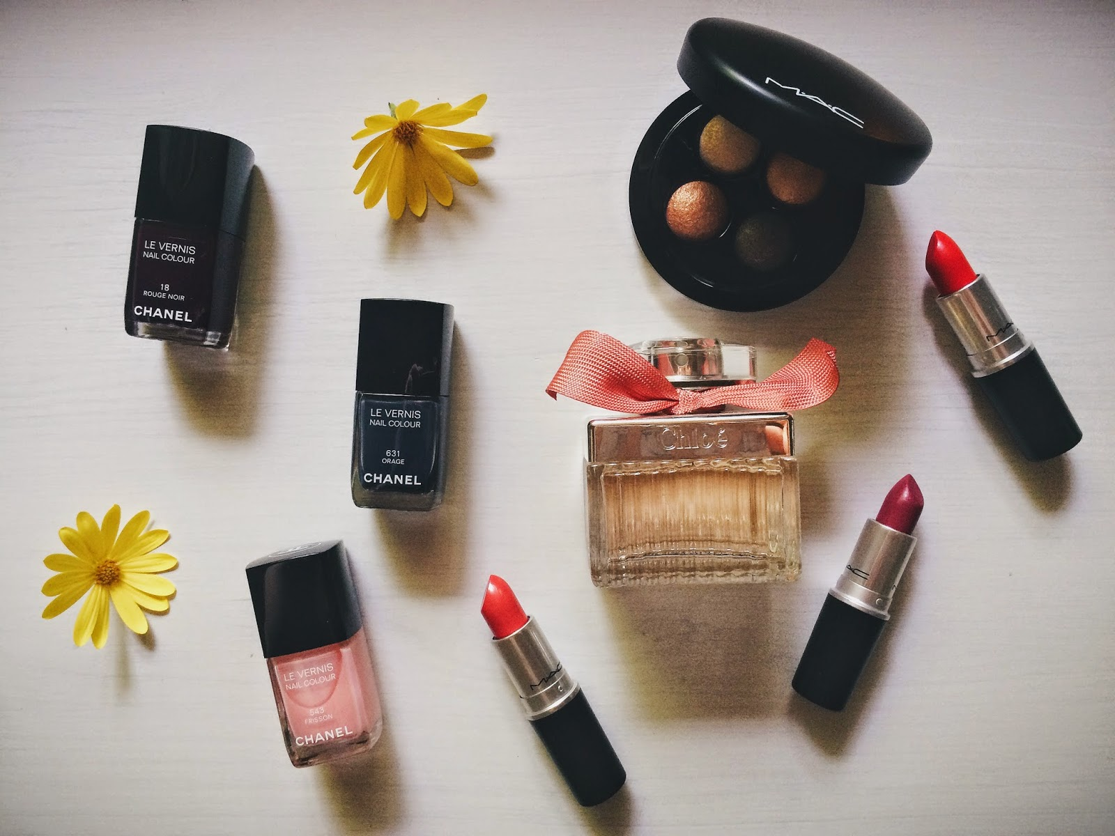Makeup Haul, MAC lipstick, Chanel Nail Polish, Roses de Chloe, Beauty, Bramble and Thorn