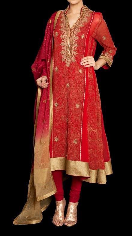 Indian Designer Ritu Kumar Pret Dresses Collection 2014 ... - photo #41