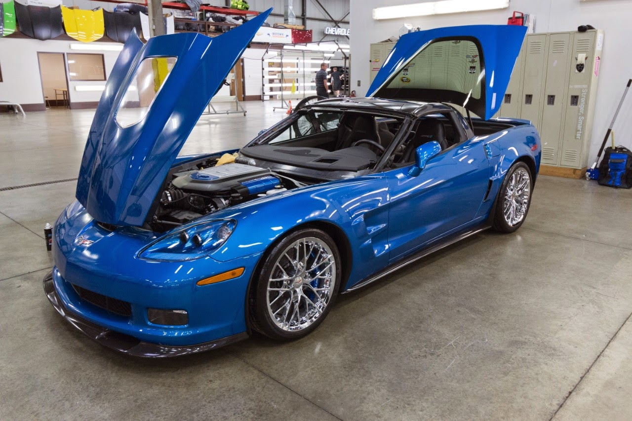 2009 Chevrolet Corvette ZR1 Blue Devil