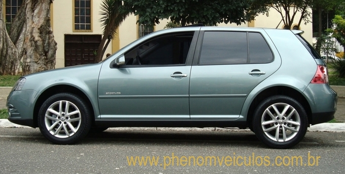 Volkswagen Golf Sportline 2010 - lateral
